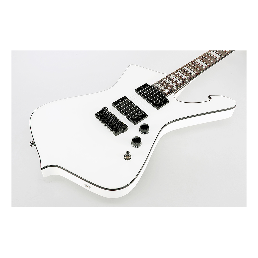 Ibanez Iceman IC500B White Body Detail