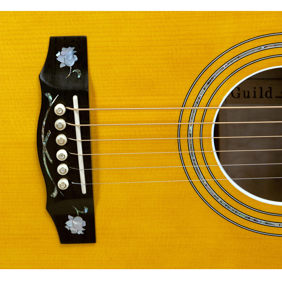 Guild Doyle Dykes Signature Model Detail