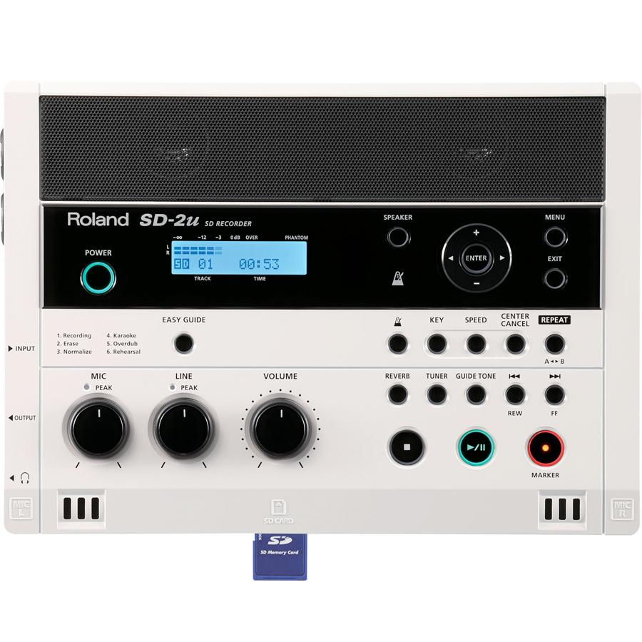 Roland SD-2uW/ SD Card