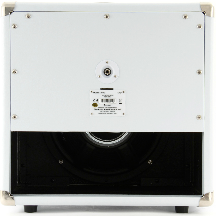 Blackstar HT-112W White Rear View