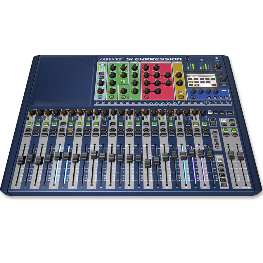 Soundcraft Si Digital Expression 2 Angled View
