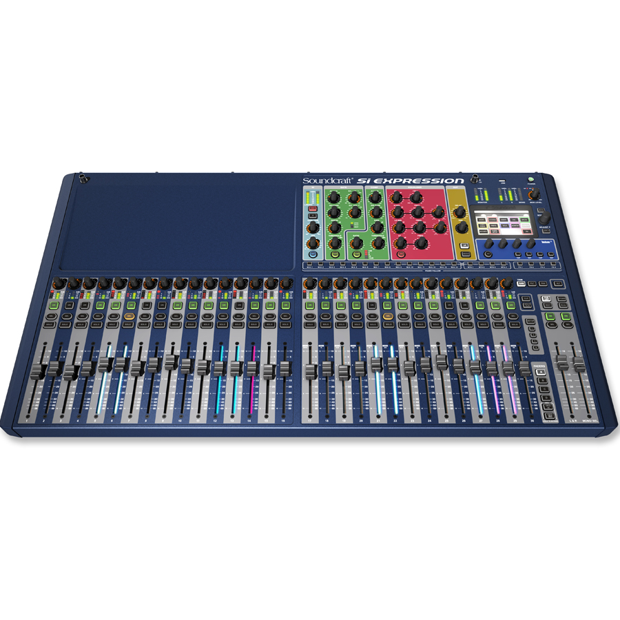 Soundcraft Si Digital Expression 3 Angled View