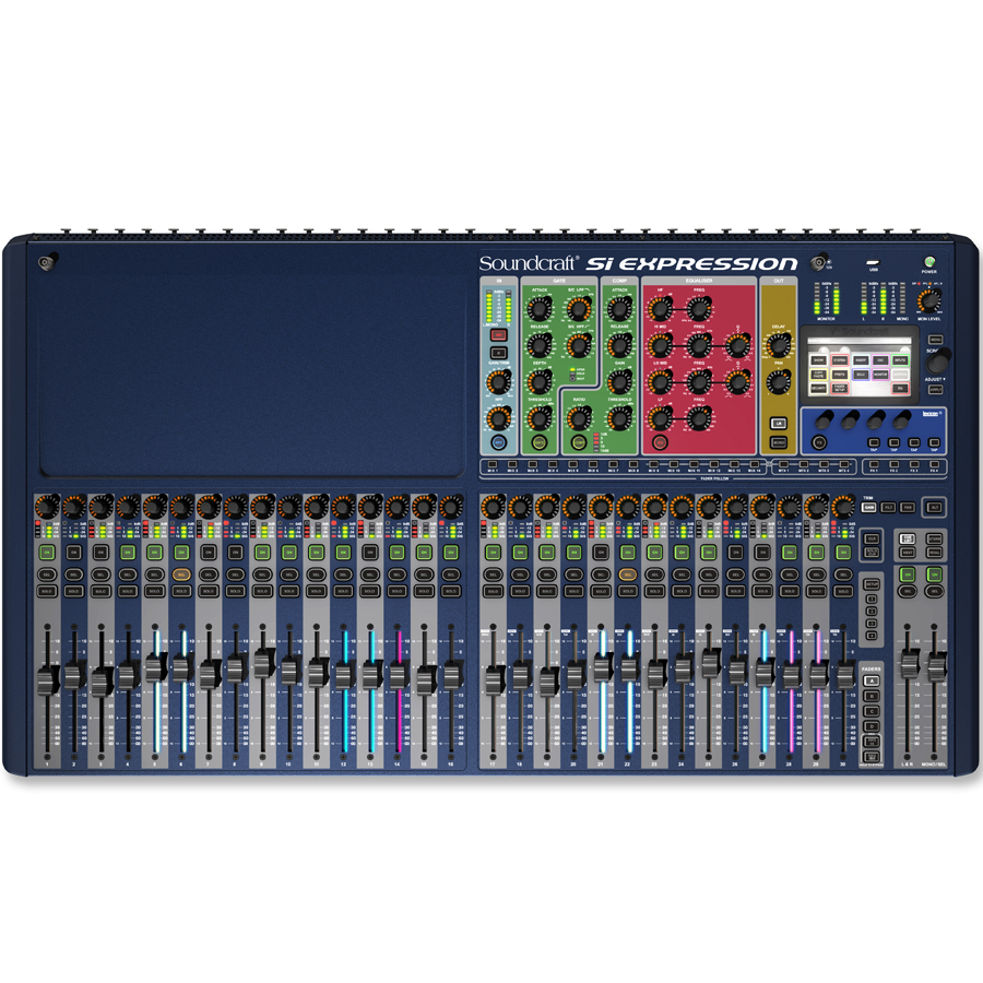 Soundcraft Si Digital Expression 3 Top View