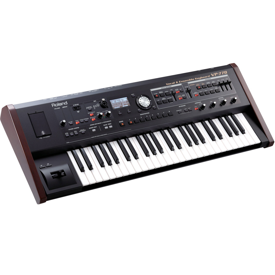 Roland VP-770Front Angle