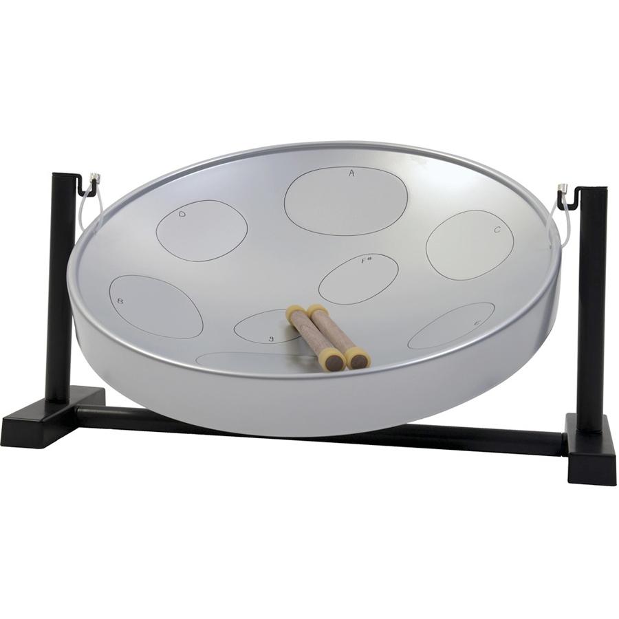 Steel Drum Table Top Kit - Silver