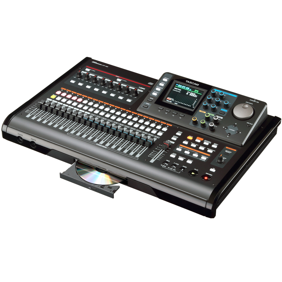 Tascam DP-32 Right Angle
