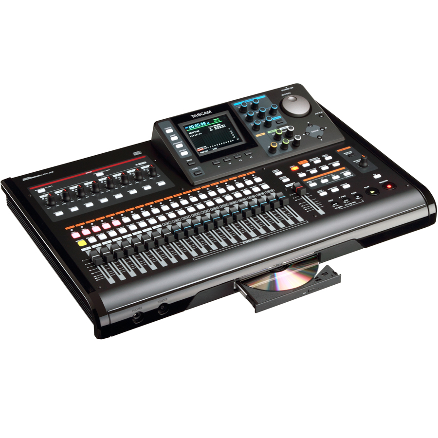 Tascam DP-32 Left Angle