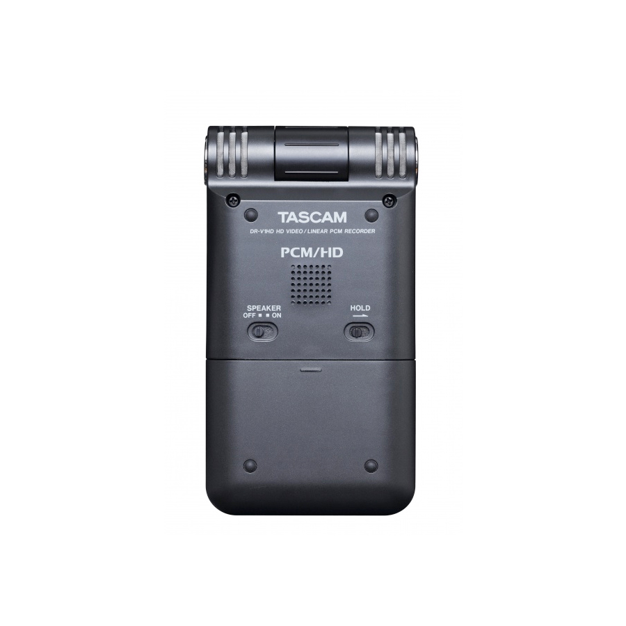 Tascam DR-V1HD Rear View