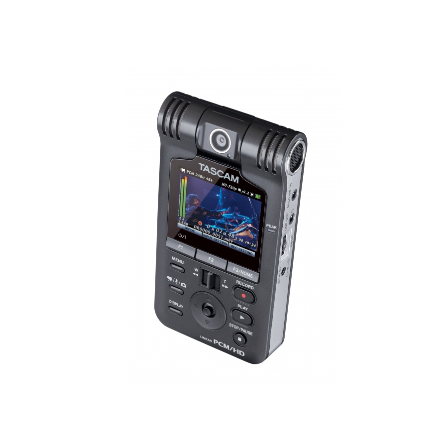 Tascam DR-V1HD Camera Pointed Front