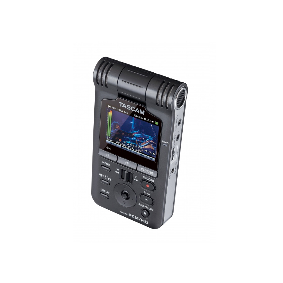 Tascam DR-V1HD Camera Pointed Back