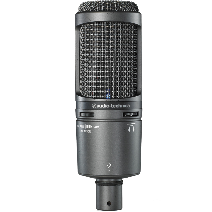 Audio Technica AT2020 USB Plus Front View