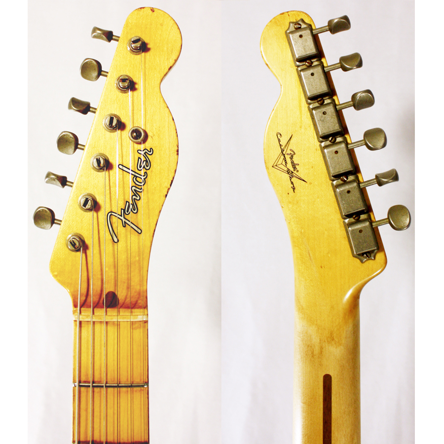 Headstock Detail Front and Back