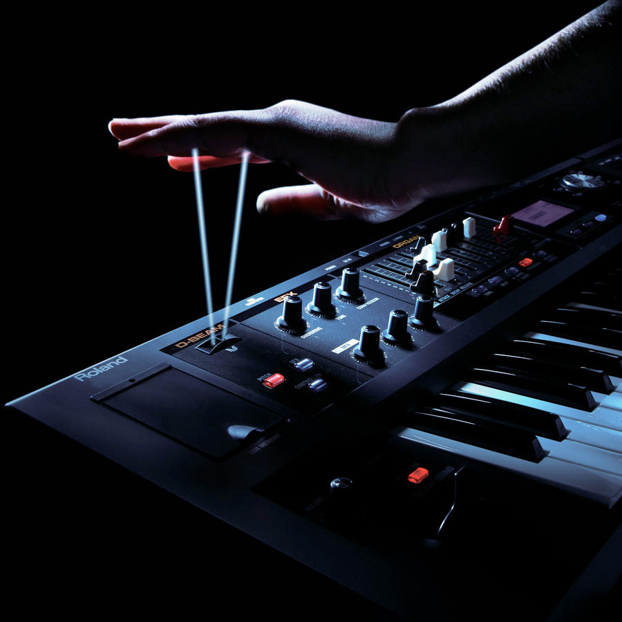 Roland V-Combo VR-09 In Use