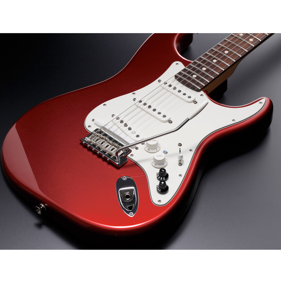 Roland G-5A VG Stratocaster Candy Apple Red Body Detail