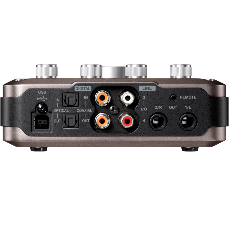 Tascam US-366 Rear View