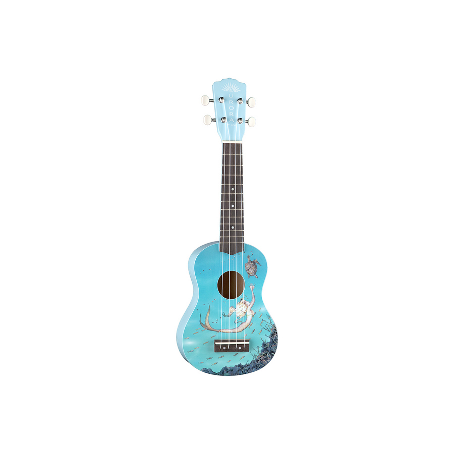 Aurora Childrens Ukulele - Mermaid