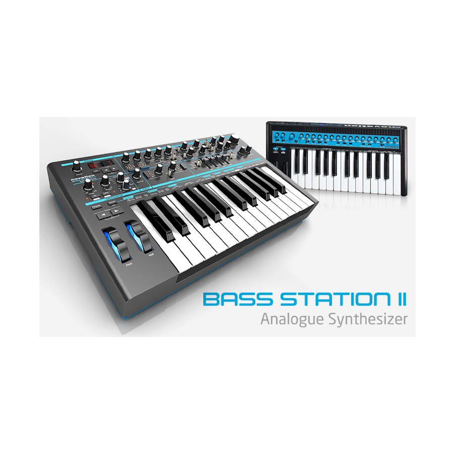 Novation Bass Station II Angled View