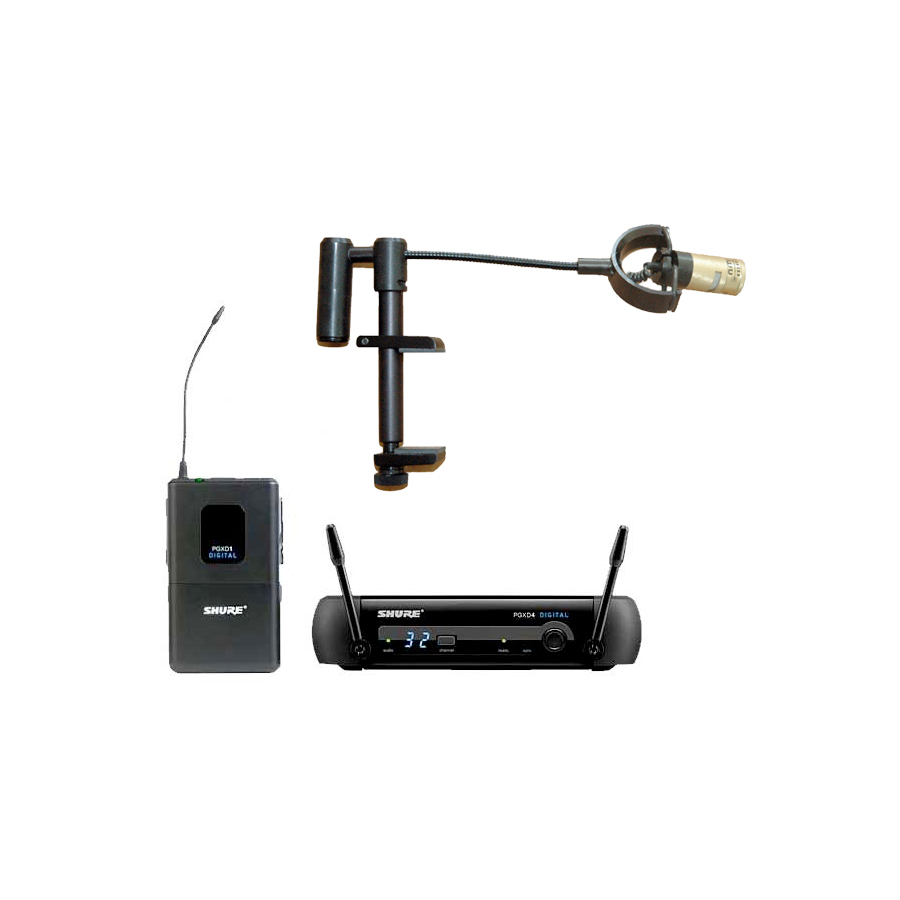 Pro Digital Wireless Violin Microphone System