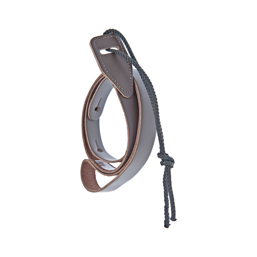 Leather Mandolin Strap Brown