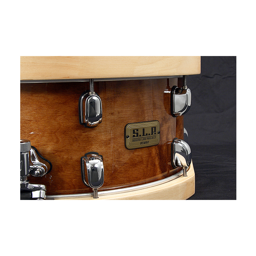 Tama SLP Snare Maple Sienna View 2