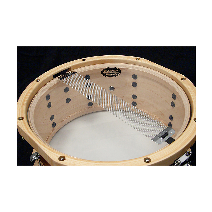 Tama SLP Snare Maple Sienna View 5
