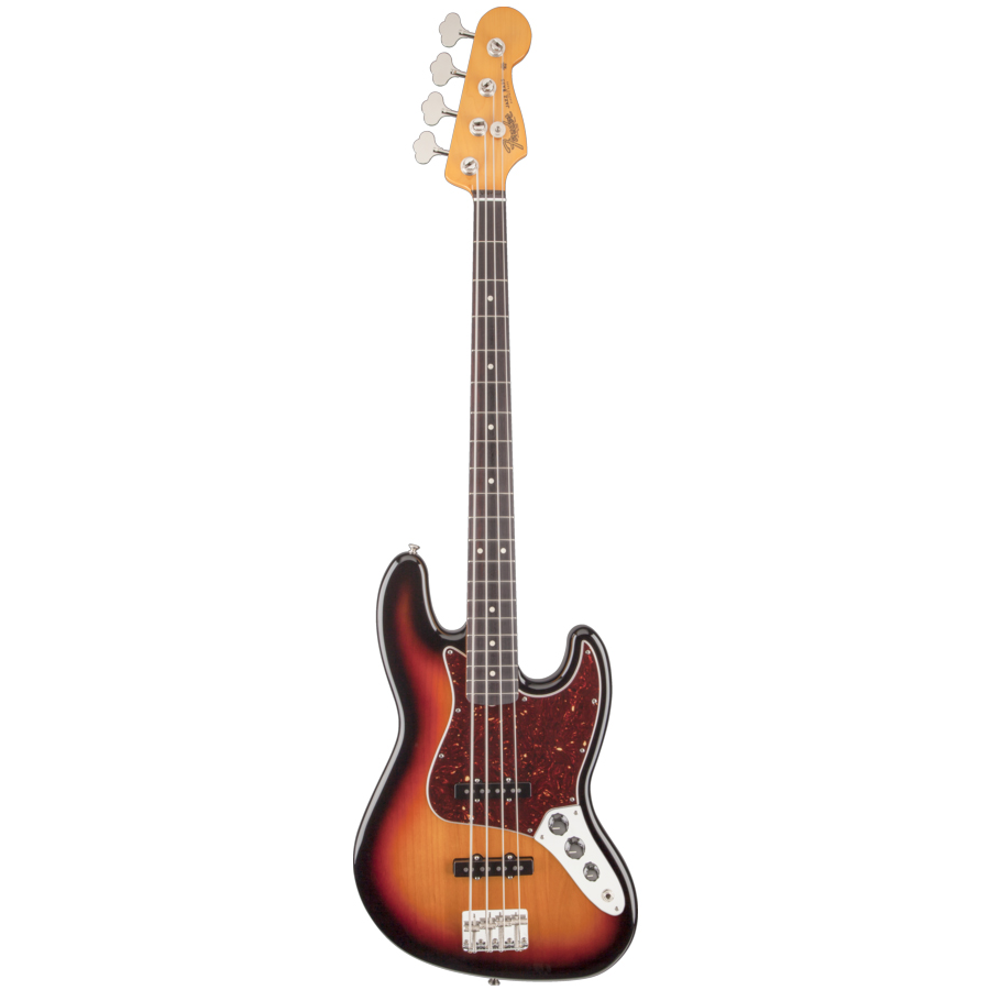 Classic Series 60s Jazz Bass Lacquer 3-Color Sunburst