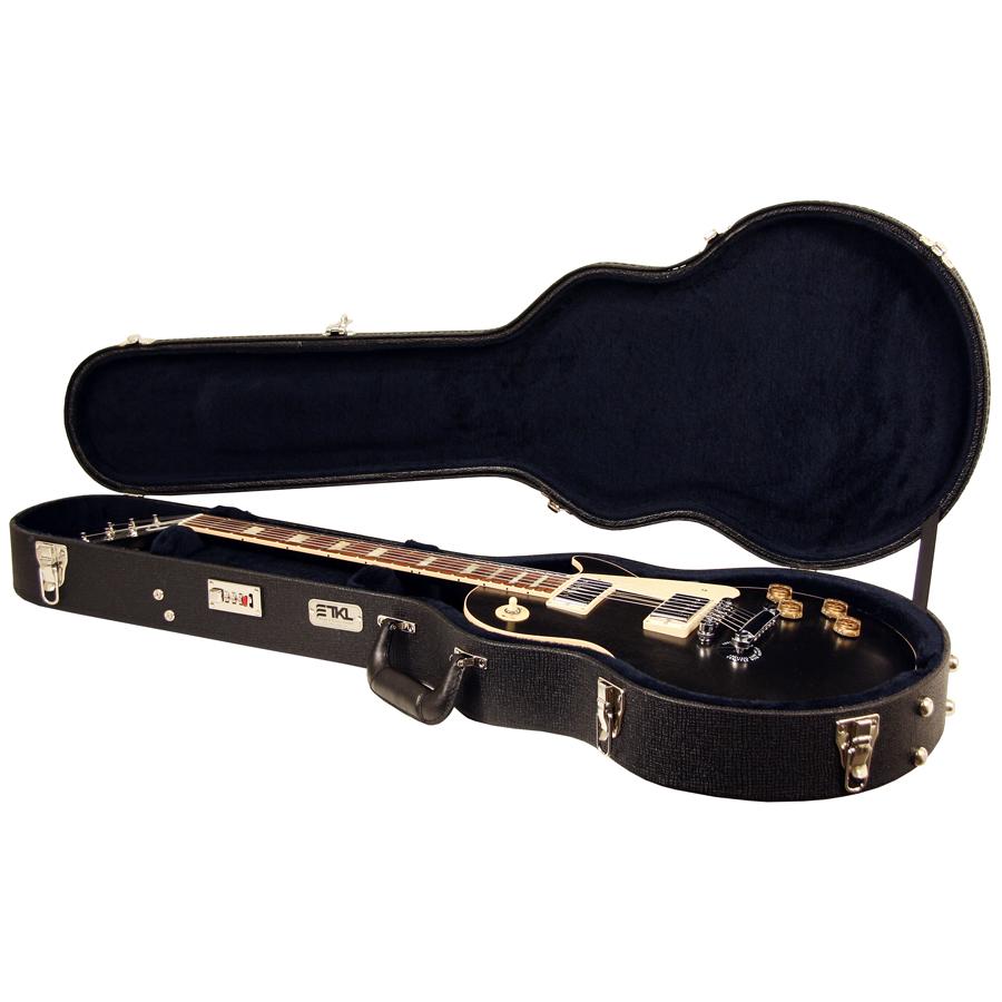 Tkl 8825 C Ltd Arch Top Single Cut Lp Style Hard Shell Guitar Case