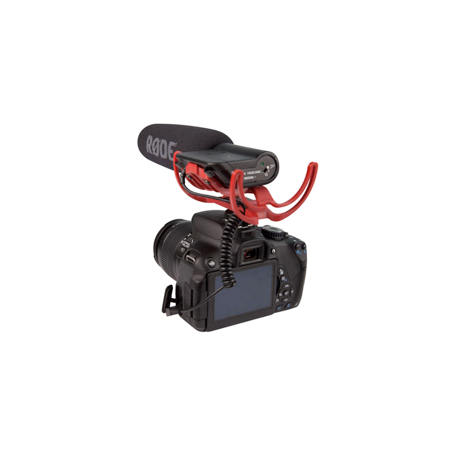 Rode VideoMic On Camera - Not Included