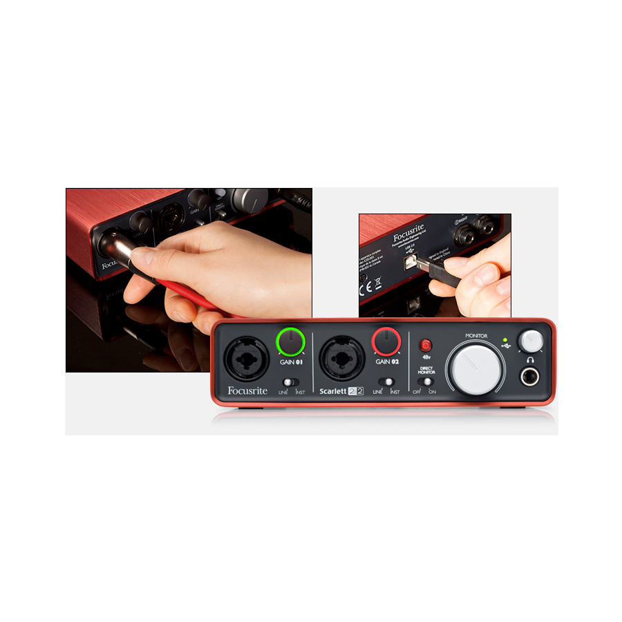 Focusrite Scarlett Studio Interface