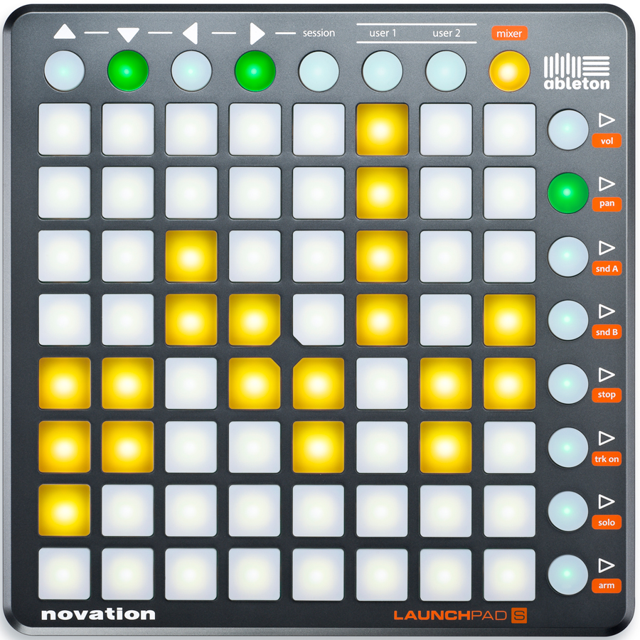 Novation Launchpad S Front View