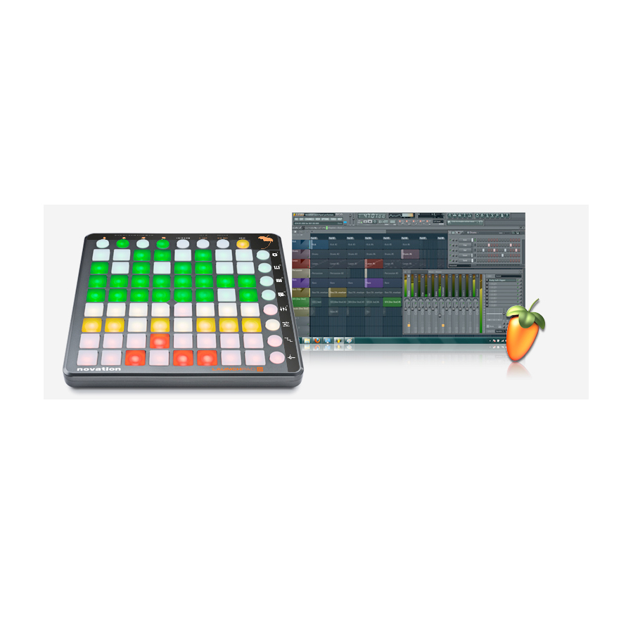 Novation Launchpad S Launchpad S with FL Studio