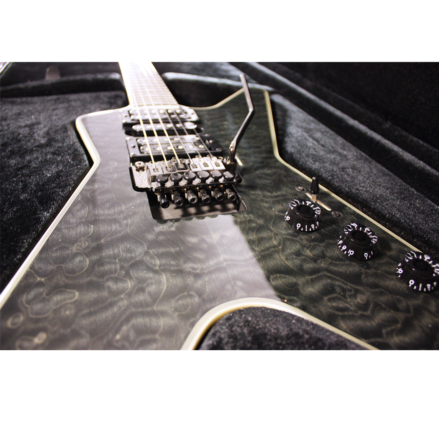 Dean Custom Run 8 ML Switchblade Transparent Black No. 61 of 100 Body Detail