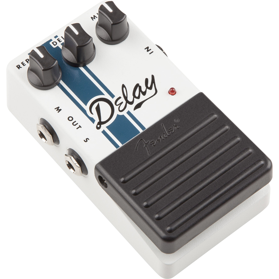 Fender Delay Pedal Right Side