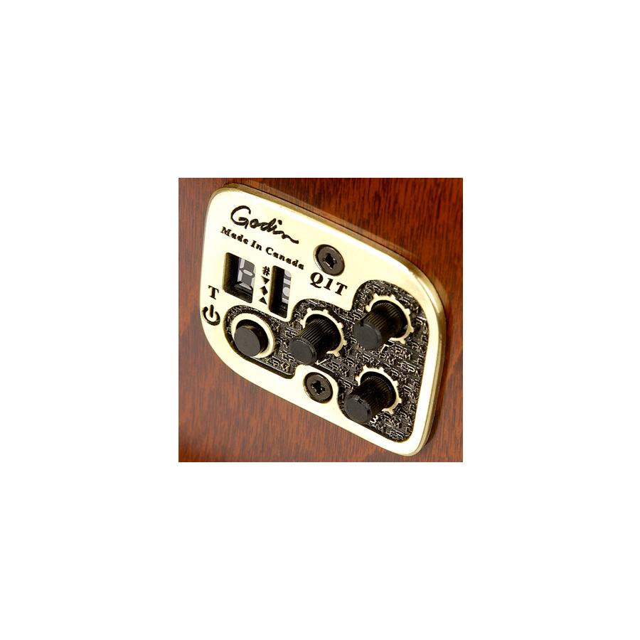 Seagull S6 Original Left-Handed QIQuantum I Electronics