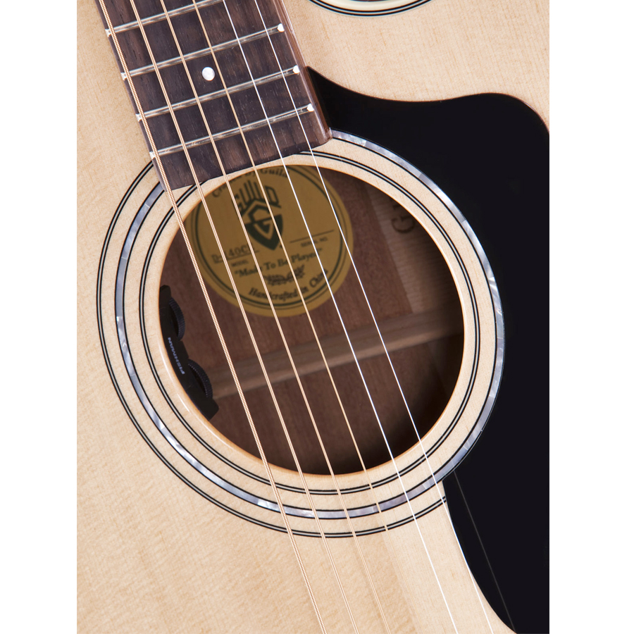 Guild D-140CE Soundhole