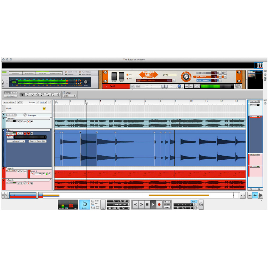 Propellerhead Reason 7 Upgrade for Adapted/Limited/Essentials Screenshot
