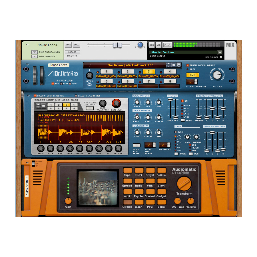 Propellerhead Reason 7 Screenshot