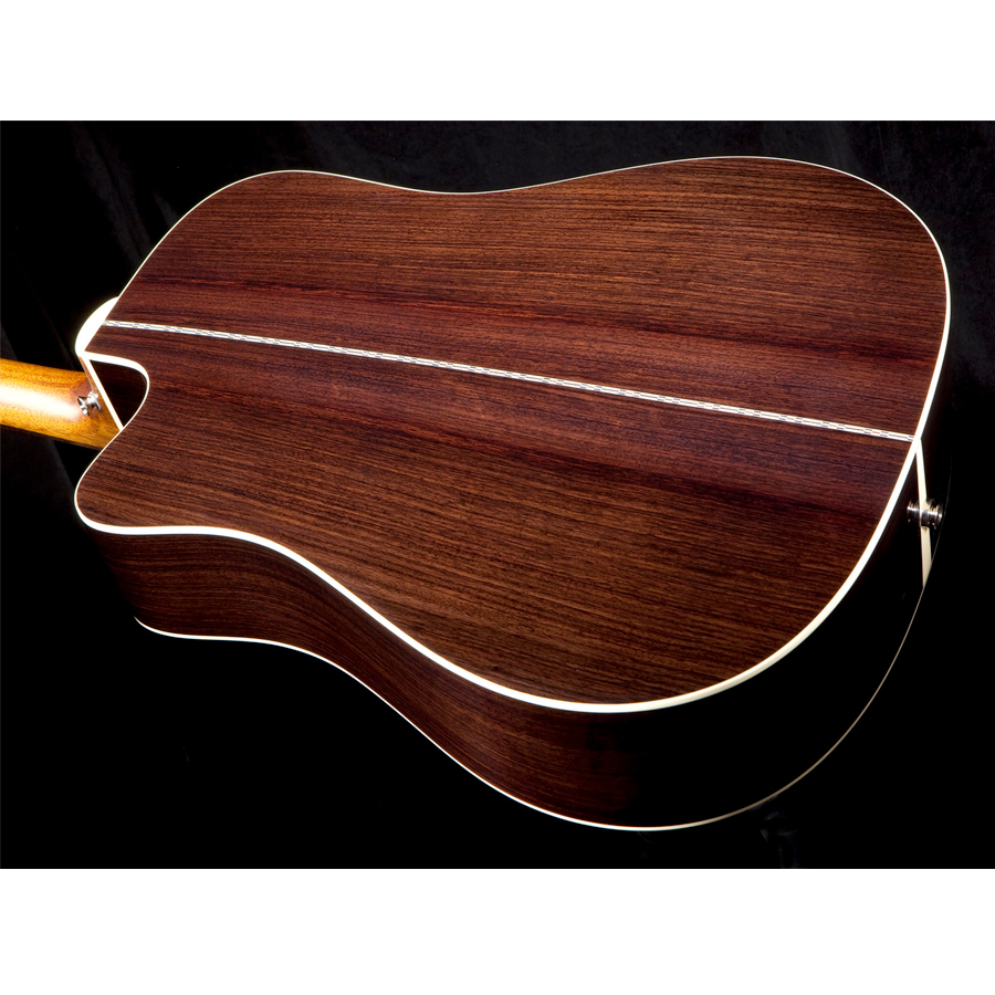 Guild D-150CE Natural Rear Body