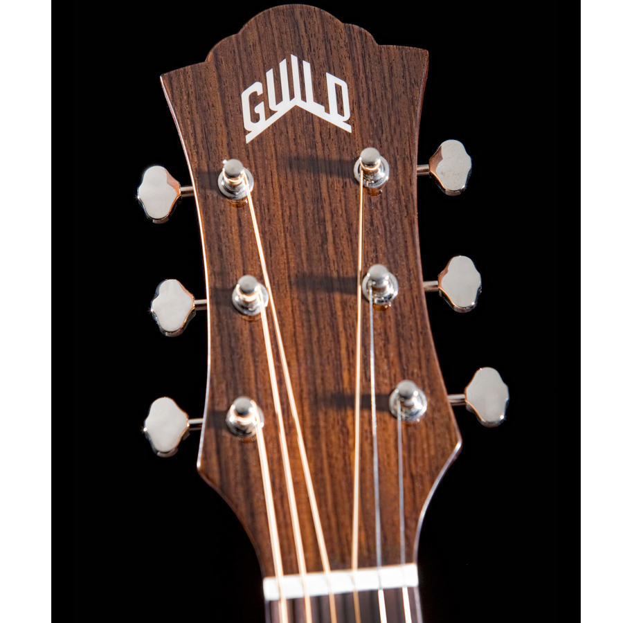 Guild F-130 Natural Headstock