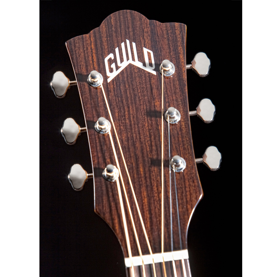 Guild M-120E Headstock