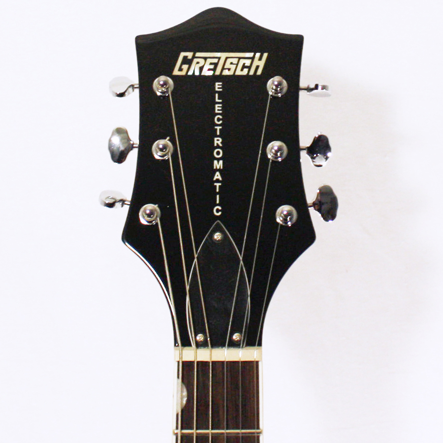 Gretsch G5120 Electromatic Black with Custom Hand Painted Graphix Headstock Detail