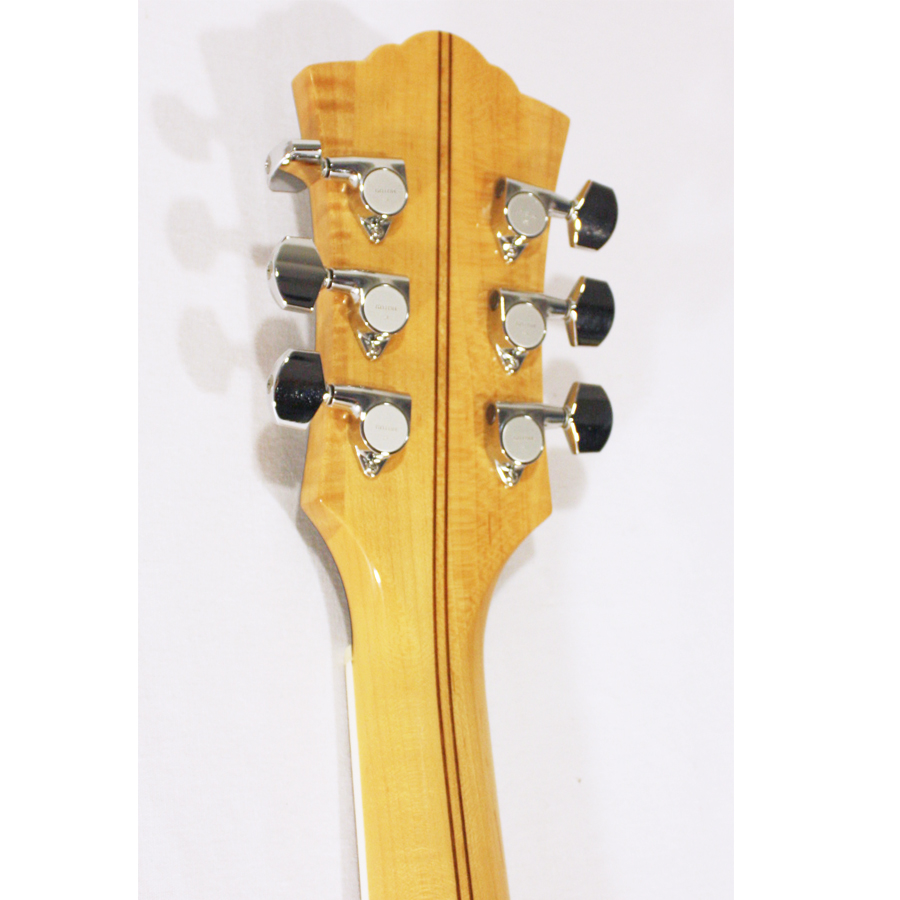Guild GSR T-400 Blonde Rear Headstock Detail