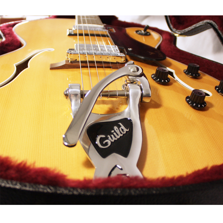 Guild GSR T-400 Blonde Bridge