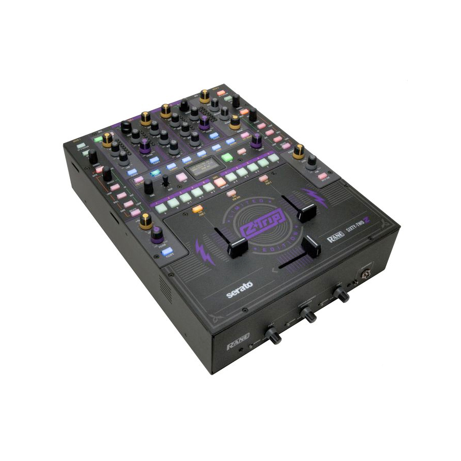 Rane Z-Trip Limited Edition Sixty-Two Z Mixer  Left Angle