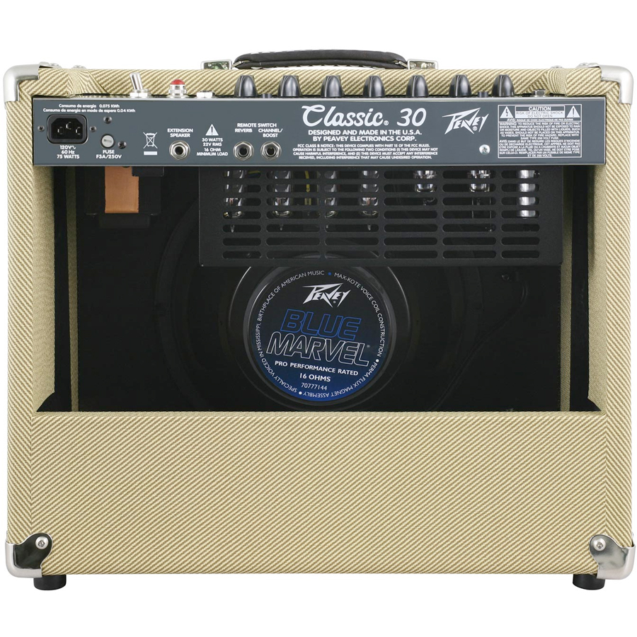 Peavey Classic 30 II 112 Tweed Rear View