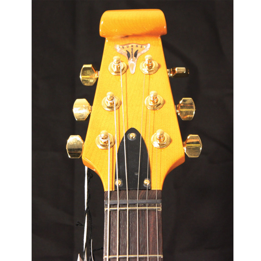 Burns BL-900 White Headstock