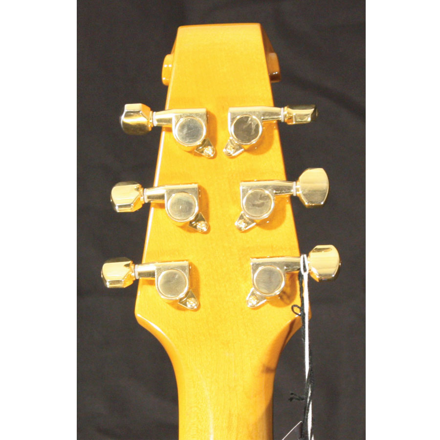 Burns BL-900 White Rear Headstock Detail