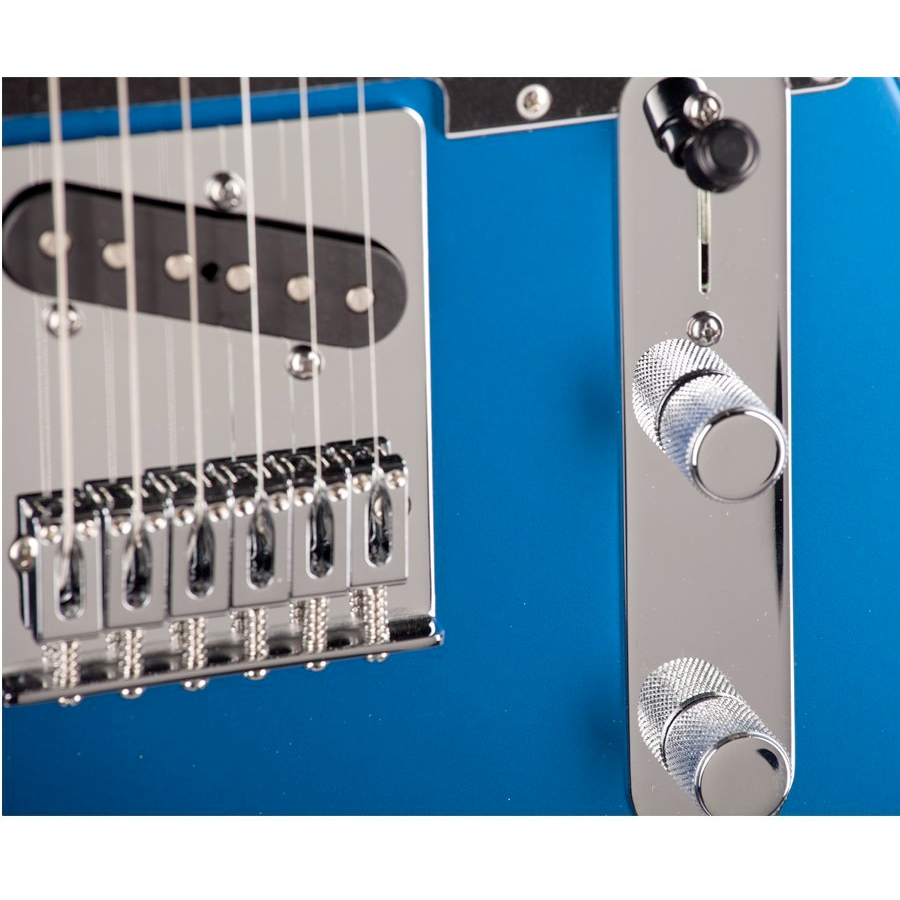 Fender Standard Telecaster Satin Ocean Blue Candy Detail View