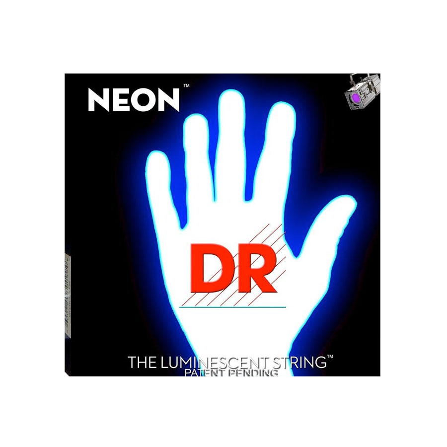K3 NEON Hi-Def White Electric Strings