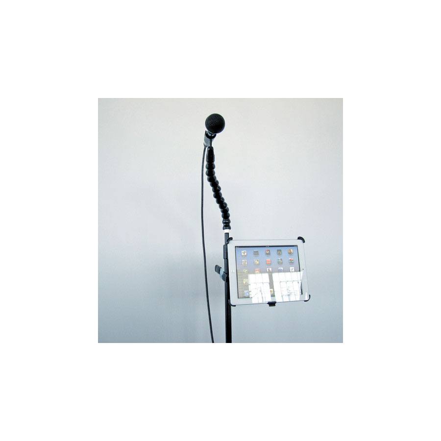 Stage Ninja IPA-8-CB On Mic Stand